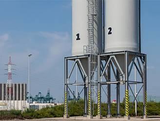 Glabbeek gaat strooizout opslaan in silo met laadbrug