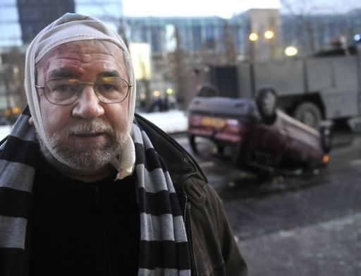 Onbekenden gooiden stenen naar MR-politicus Richard Miller, minister in de Franse gemeenschapsregering.