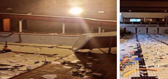 La piscine Aqua 2000 à Gosselies (Charleroi) est dans un triste état