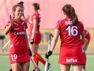"""Barbara Nelen (Gantoise) tevreden na matchen tegen USA: """"Het is momenteel echt leuk hockeyen bij de Panthers"""""""