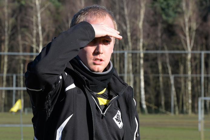 FC Gelre-trainer Tom Vrenken.