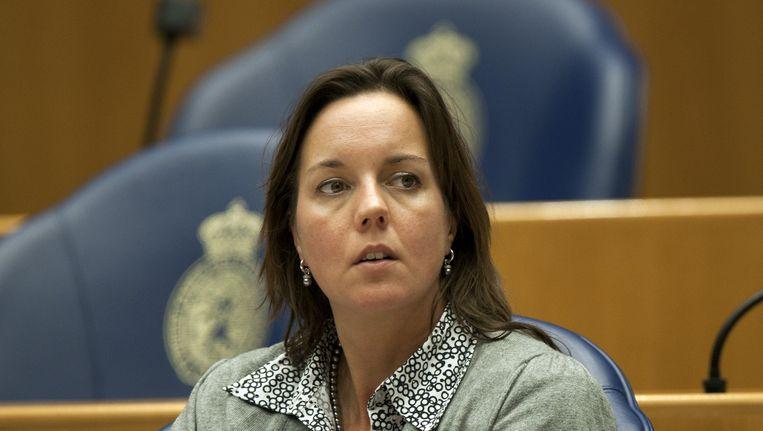 Tamara van Ark, vicefractievoorzitter van de VVD, heeft genoeg van de betuttelende maatregelen van de PvdA. Beeld ANP