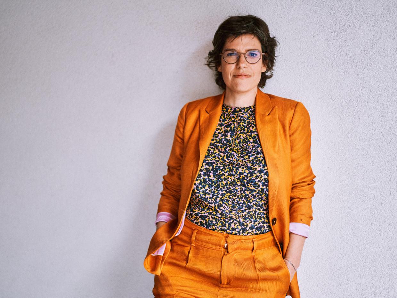 Tinne Van der Straeten. Beeld Thomas Sweertvaegher