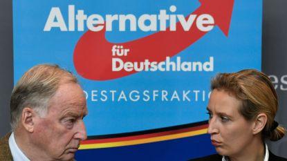 AfD-bezoekers maken amok in concentratiekamp van Sachsenhauser