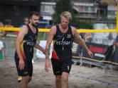 """Jeroen Oprins met Mathias Blondeel na jaren opnieuw in de finale van een beachmanche: """"Blij met ons niveau"""""""