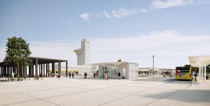 La nouvelle gare des bus près de la gare de Charleroi-Sud ressemblera à ceci.