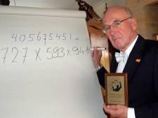 Rekenwonder Willem Bouman doet nieuwe recordpoging op TU/e