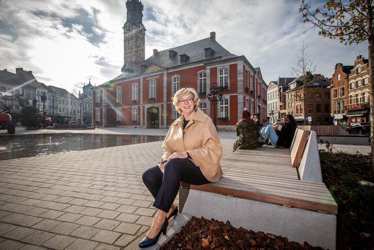 Veerle Heeren, Burgemeester van Sint-Truiden. Beeld Mine Dalemans