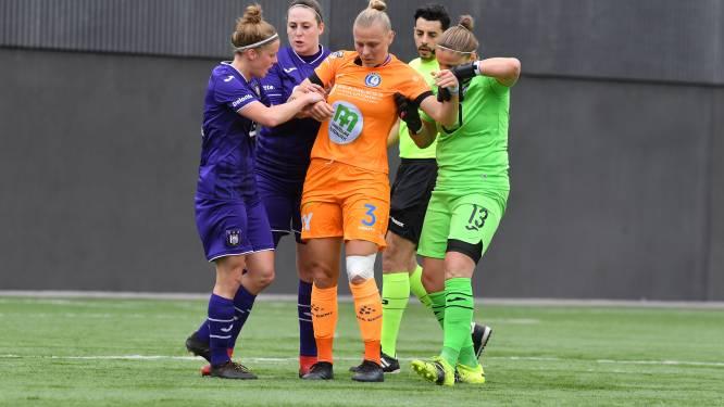 """Dominique Reyns (AA Gent Ladies) na verlies bij leider Anderlecht: """"Na OHL was ik meer ontgoocheld"""""""