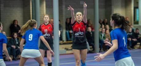 Korfbalsters Spes zien nog kleine kans om degradatie in zaal te ontlopen