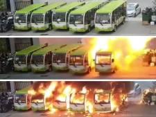 Un bus électrique prend feu lors de son rechargement
