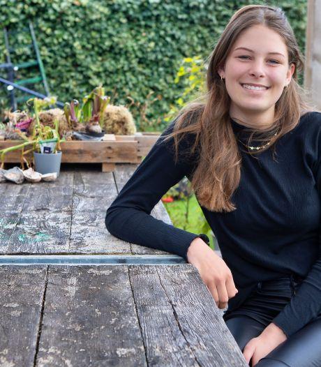 Tess (15) vindt dat er voor jongeren genoeg te doen is in haar dorp: 'Waspik is klein maar fijn'