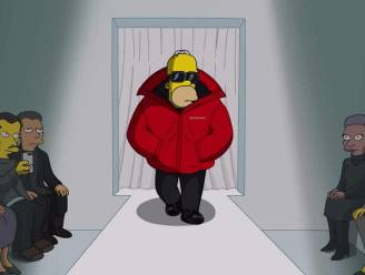 Cartoon Couture: Balenciaga zet The Simpsons op de catwalk