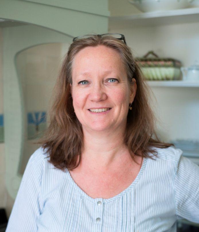 Olga Harmsen, coördinator Wereld Art Nouveau Dag in Nederland