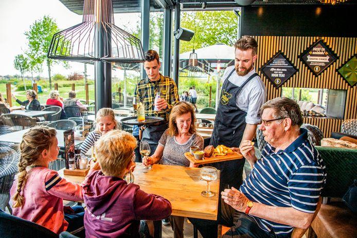 Het Beren-restaurant in Capelle aan den IJssel, dat in 2019 werd geopend. Het Alexandrium komt daar dit najaar bij.