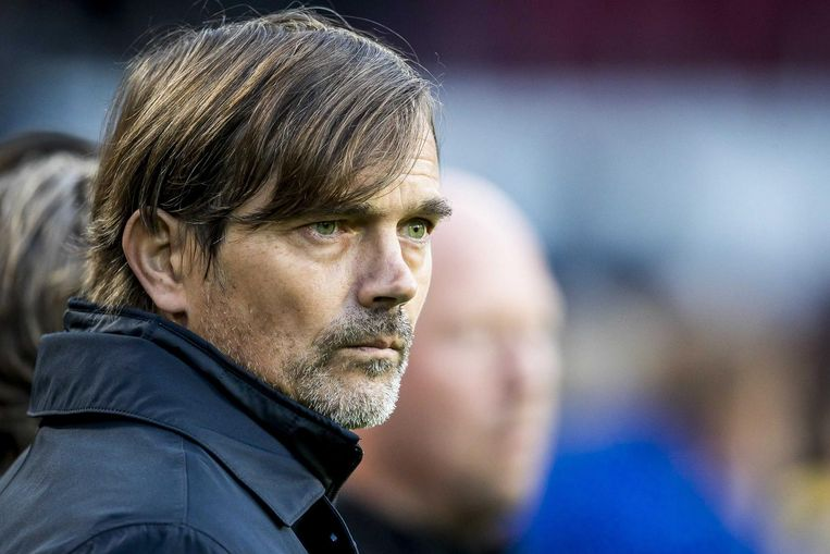 PSV-coach Phillip Cocu Beeld anp