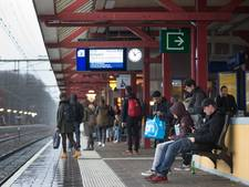 Treinverkeer naar Utrecht paar uur plat na aanrijding