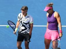 Snelle aftocht Nederlandse tennissters in dubbelspel op US Open