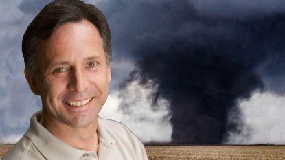 Hij riskeerde zijn leven om tornado's te bestuderen. Tot eentje hem te pakken kreeg