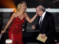 La danse improvisée de Sepp Blatter pour Shakira (vidéo)