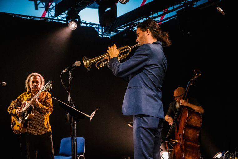 Wannes in Jazz.  Beeld Wouter Van Vooren