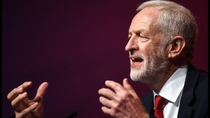 Britse oppositieleider Corbyn komt in Brussel met Europees brexitonderhandelaar Barnier praten