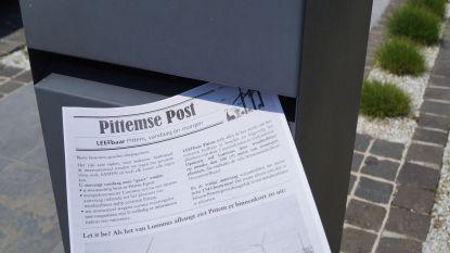 Leefbaar Pittem bust 3.000 krantjes met blanco bezwaarschriften tegen vernieuwde windmolenplannen