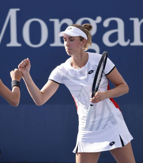US Open: Elise Mertens rejoint la paire Minnen-Van Uytvanck en huitième de finale du double