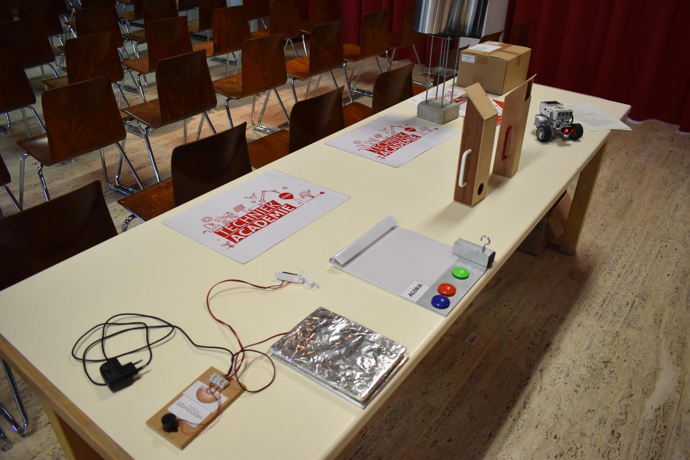 In de techniekacademie kunnen jongeren kennismaken met techniek en wetenschap.