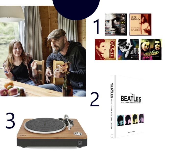 """LP- pakket - 'House Of Marley Stir It Up'-  """"The Beatles - Here, There and Everywhere"""""""