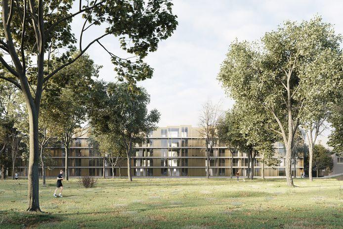 De bouwvergunning voor het vastgoedproject 'Motown Parc', in de Tarantellastraat aan de rand van het Scheutbospark tussen Anderlecht en Dilbeek, is definitief.