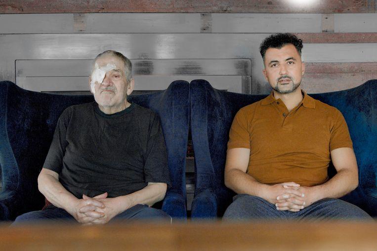 Nederland, Vlaardingen, 3 september 2021 Lex Kroon (links) en Özcan Akyol (rechts). Beeld otto snoek