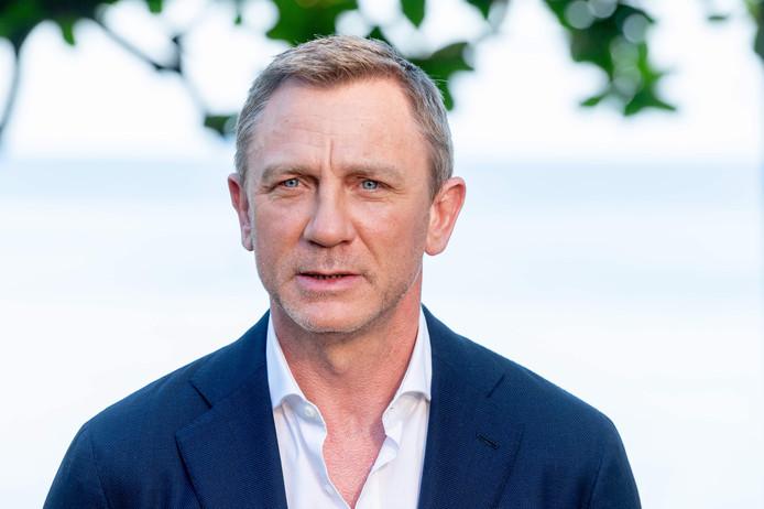 Daniel Craig, een paar weken geleden bij de onthulling van de cast en het plot van de 25ste Bond-film, die nog geen titel heeft.