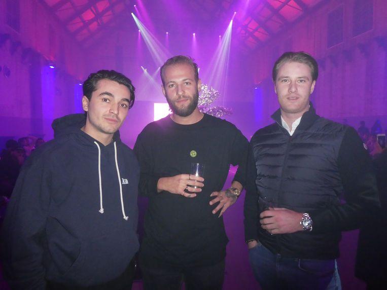 Daan Erisman (Speakeasy), Rex Enderman (Brasserie Lolita) en Maurits Veldhuijsen (Amsterhomes):