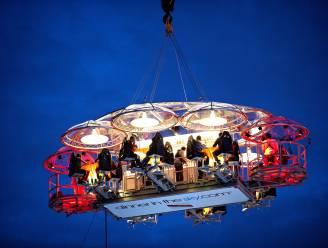 Dinner in the Sky maakt in juni Brusselse comeback