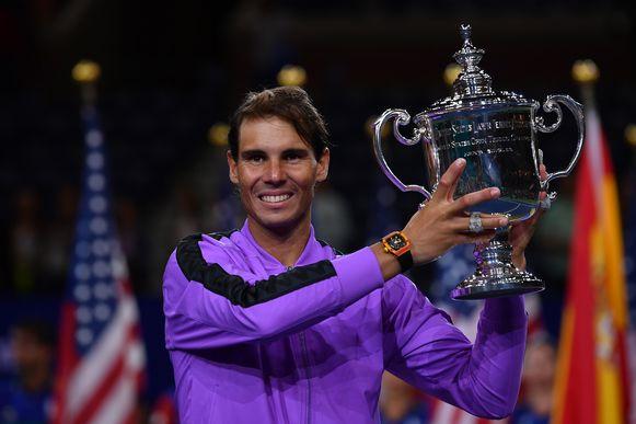 Rafael Nadal won vorig jaar de US Open.