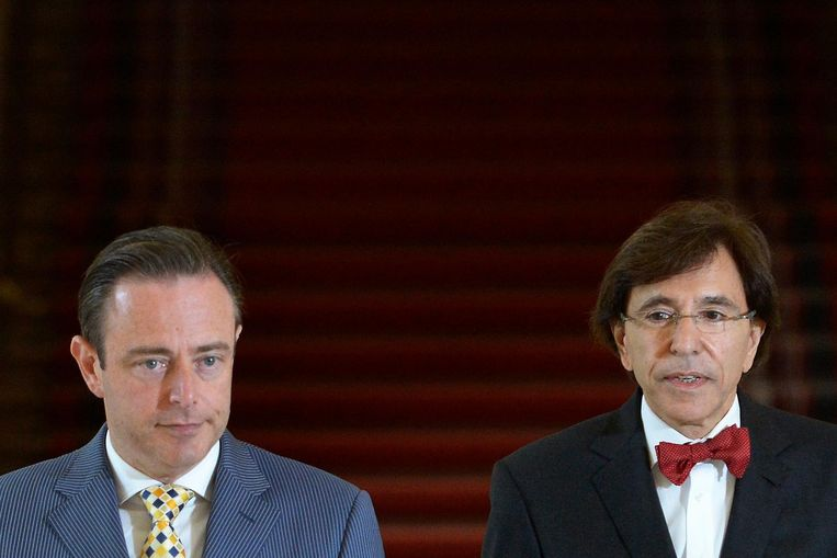 Bart De Wever en Elio Di Rupo (archiefbeeld).