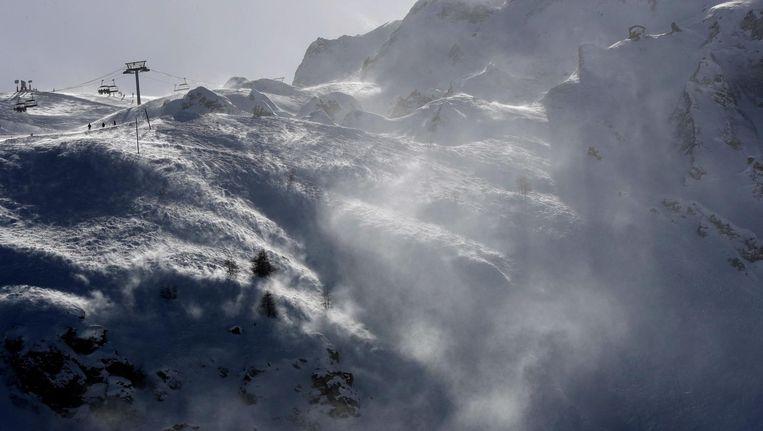 Het skioord Tignes Beeld AP