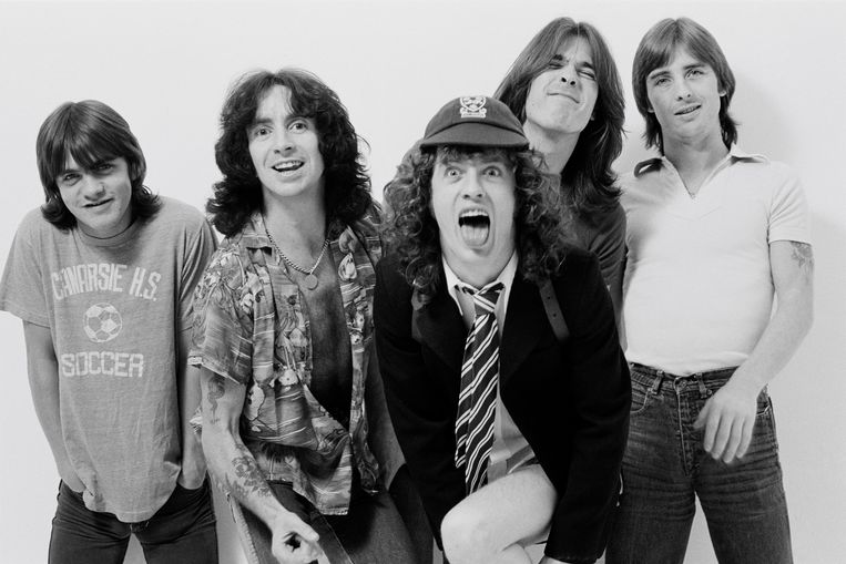 AC/DC in 1979. Beeld Redferns