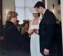 Joost en Saskia Broers trouwden op 19 april 2002
