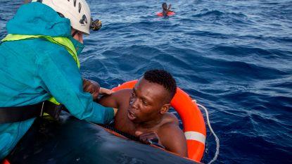 Weer minstens 21 vluchtelingen in Middellandse Zee verdronken
