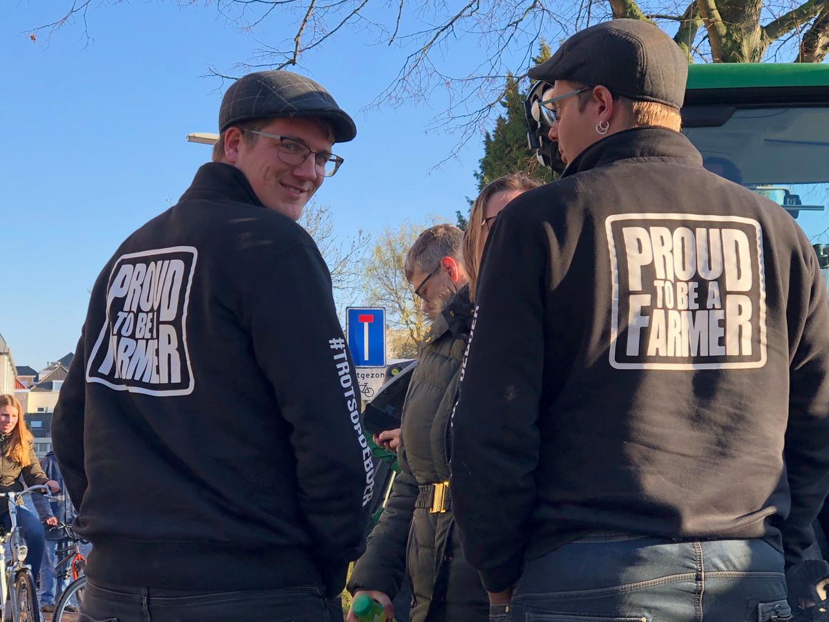 Boeren zijn in grote getale naar Middelburg afgereisd.