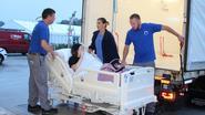 Patiënten verhuizen met vrachtwagen naar nieuwe stek
