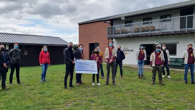 Lions sponsort bouw van nieuw scoutslokaal  Prins Boudewijn