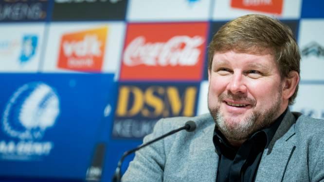 """Hein Vanhaezebrouck heeft bedenkingen bij vijf wissels: """"Geef ons dan ook selectie van 23"""""""