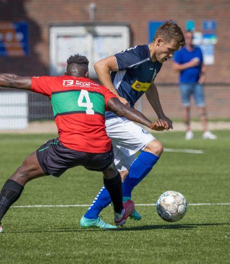 RKHVV genadeloos voor NEC-amateurs: (8-0), vier goals Tom te Boekhorst voor GVA
