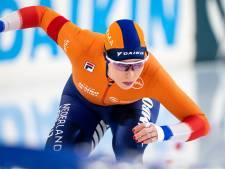 De Jong loopt op 1500 meter uit op Schouten in aanloop naar slotafstand