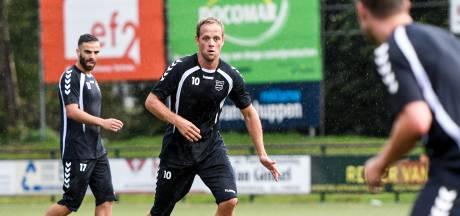 Middenvelder Simon Brouwer (ex-GVVV) stopt met voetballen
