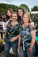 Almere, 24 mei 2019 - LIBELLE ZOMERWEEK. Vlnr: Ingrid Thomas (26), Marianne Bekerbrede (40), Diana Greve (40) en Marjan de Jong (38).