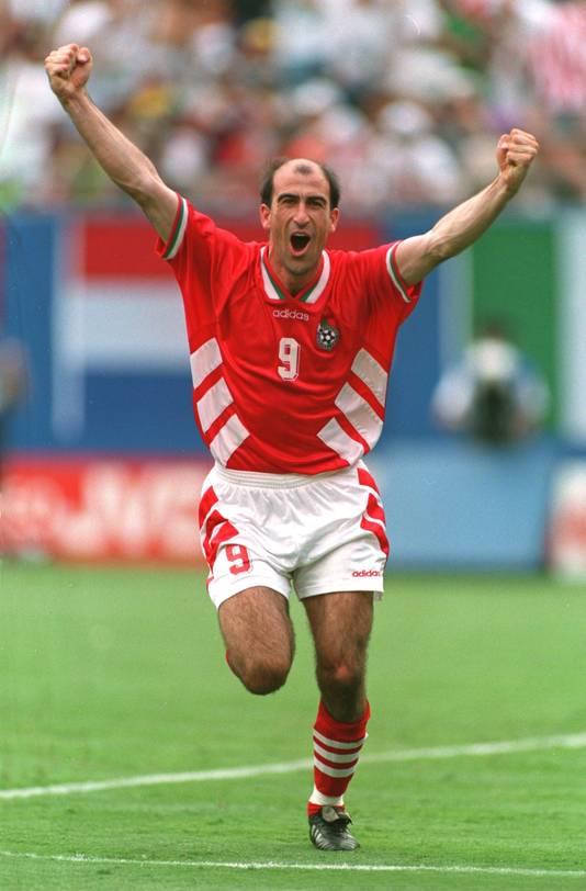 Yordan Letchkov was een smaakmaker in de gouden generatie van het Bulgaarse voetbal.
